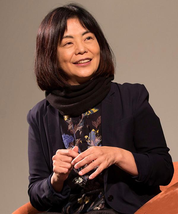 写真:多和田葉子さん<