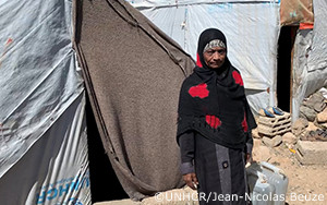 飢餓と避難に耐える、疎外されたイエメンの人々
